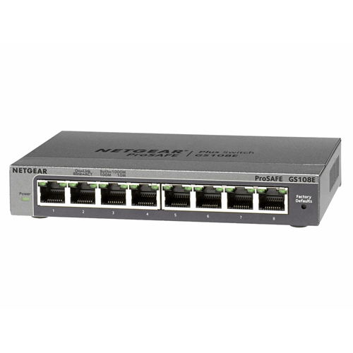 8-port Gigabit 10/100/1000 Mbps desktop