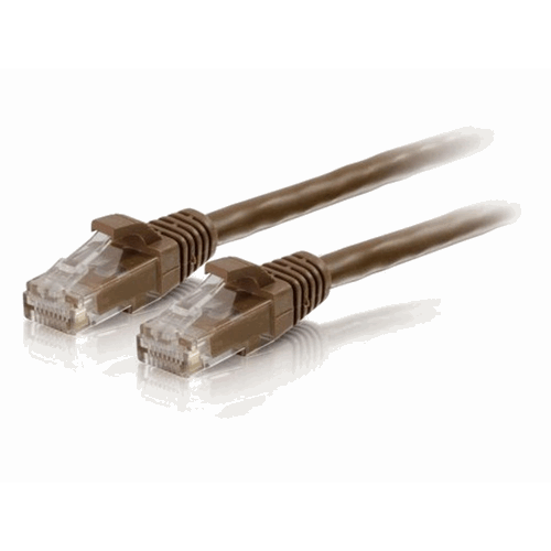 UTP CAT6 patchcable brown 3 m