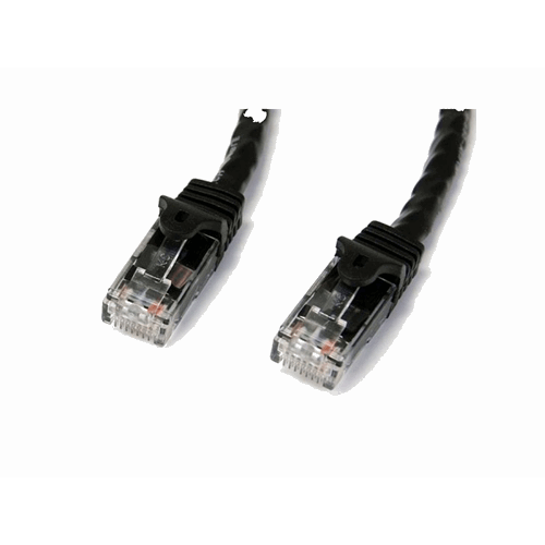 UTP patchcable black 1 m