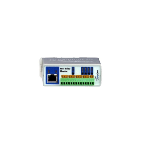 External IP Relay - 4 outputs, PoE
