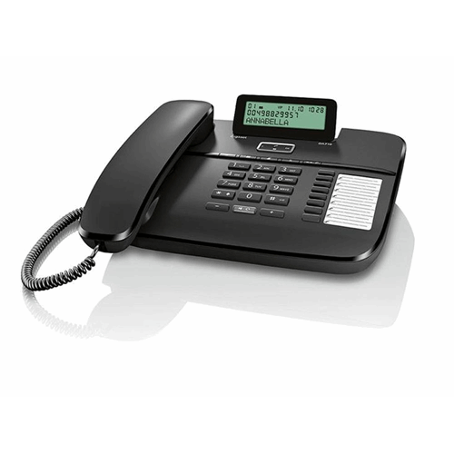 Gigaset DA710 desk phone with display, caller ID and handsfree, speed dial keys