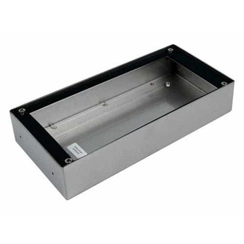 RVS Encloserbox 1,1A,9 PortaVision Brushed