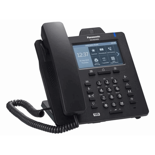 SIP Desktop Zwart Corded Step-up model Video Phone KX-HDV430NE-B