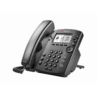 VVX 301 6-line Desktop Phone with HD Voice