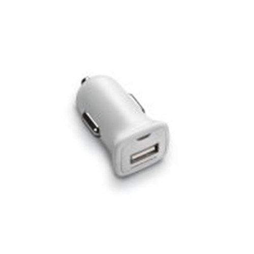 Vehicle charging adapter male micro-USB, white for Voyager Edge